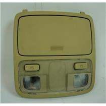 2005-2009 Hyundai Tucson Overhead Console with Map Lights Storage Compartment