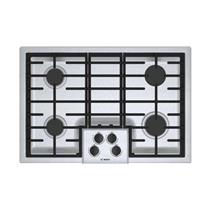 """Bosch 500 Series 30"""" 4 Sealed Burners LED Indicator Gas SS Cooktop NGM5056UC"""