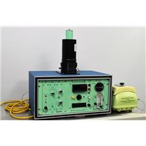 For Parts or Repair: Technical Associates FM7-ABNI Iodine Air Monitor MGA-5P FIL-7D - For Parts