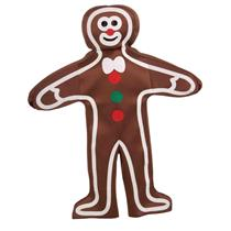 Brown Gingerbread Man Cookie Christmas One Size
