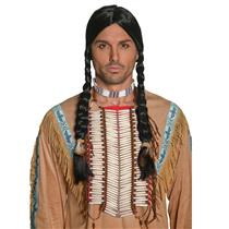 Western Authentic Indian Beaded Breastplate Adult Costume Accessory