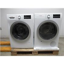 Bosch 500 Series Front Load 15 Progams Washer + Dryer WAT28401UC / WTG86401UC