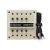 Califone 1218AV-PY 10 Station Headphone Jackbox
