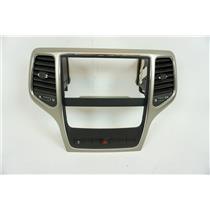 2011-2013 Jeep Grand Cherokee Center Dash Radio Climate Bezel Vents Hazard