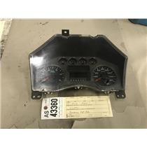 2008-2010 Ford F250 F350 6.4L Powerstroke diesel XLT gauge cluster tag as43360