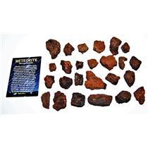 "MOROCCAN Chondrite Stony METEORITE ""B"" Grade Lot 400.3 grams #14299 17o"