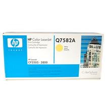 New Genuine HP Color LaserJet Yellow Print Cartridge Q7582A for CP3505 | 3800