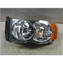 2003 - 2008 DODGE 2500 RAM DRIVERS SIDE HEAD LIGHT EXC CONDITION OEM