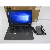 HP W4R17UC#ABA ZBook 15 G3 Mobile Workstation  i7-6820HQ 2.7GHz 16GB 512GB M.2