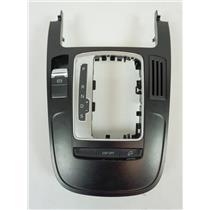 09-12 Audi A4 Shift Floor Trim Bezel with Parking Brake Hill Descent Switches