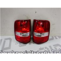 2004 - 2008 FORD F150 FX4 LARIAT OEM TAIL LIGHTS EXC CONDITION OEM