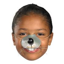 Latex Rubber Mouse Nose with Elastic Band Fun For All Ages