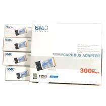 Lot of 5 NEW SMC Networks Wireless Cardbus Adapters EZ Connect N Pro