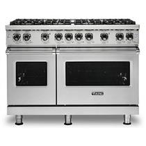 "Viking Professional 5 Series 48"" 8 VSH™ Burner Freestanding Gas Range VGR5488BSS"
