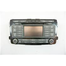 2010 Mazda CX9 Radio Controls Only Panel Cover 4.25 inch Display SIRIUS 6-Disc