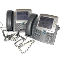 Lot of 2 Cisco CP-7975G IP Phones DEFAULTED