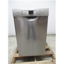 """Bosch 300 Series 18"""" SS AquaStop Plus 46dBA Tall Tub-Dishwasher SPE53U55UC"""