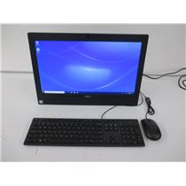 """Dell WMKHT OptiPlex 3050 AIO i3-7100T 3.4GHZ 4GB 500GB 19.5"""" W10P"""