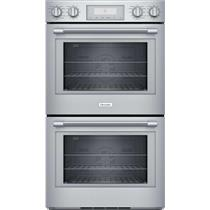 "Thermador Professional Series 30"" Self-Clean Mode Double Wall Oven PO302W"