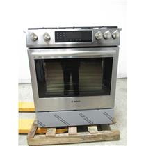 "Bosch 800 Series 30"" 18000 BTU Burner 4.8 cu. ft Slide-In Gas Range HGI8054UC (9)"