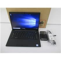 """Dell Latitude 7390 Laptop Core i5-8350U 1.7GHZ 16GB 256GB M.2 SSD 13.3"""" W10P"""
