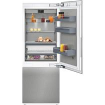 "Gaggenau RB472704 30"" Bottom Freezer Refrigerator TFT Touch Display Excellent"