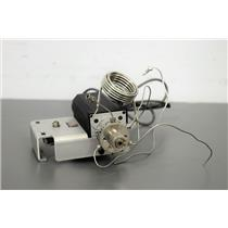 Used: HPLC 6-port Injection Valve w/ Vici ETMA 24v Motor & 5mL Dampener Coil Warranty