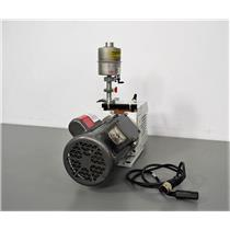 Used: Tested Leybold Trivac D8B RotaryVane Dual Stage Vacuum Pump w/Baldor.33 HP Motor