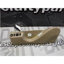 2005 - 2007 FORD LARIAT F350 F250 POWER SEAT SWITCH HEAT COVER (TAN) DRIVERS OEM