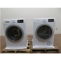 "Bosch 500 Series 24"" Front Load Washer and Dryer WAT28401UC / WTG86401UC"