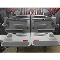 2000 - 2003 FORD EXCURSION DOOR PANELS GREY *EXCELLENT CONDITION* OEM