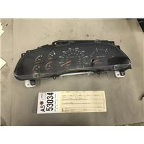 2000-2003 Ford F350 7.3L powerstroke gauge cluster tag as53034