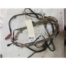 2003-2007 F350 6.0L powerstroke diesel battery cable wiring harness tag as31780