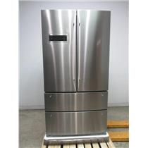 "Bosch 800 Series 36"" SS SuperCool 4-Door French Door Refrigerator B21CL80SNS"
