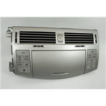 05-10 Toyota Avalon Center Dash Radio Climate Bezel Vents Climate Hazard Switch
