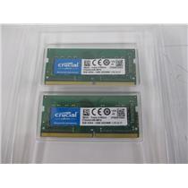 Crucial CT2K8G4S24AM 16GB Kit (2 x 8GB) DDR4-2400 SODIMM Memory for Mac