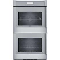 """Thermador 30"""" Stainless 16 Cooking Modes Wi-Fi Double Wall Oven MED302LWS"""