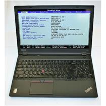 """Lenovo Thinkpad W541 15.6"""" Dual Nvidia & Intel i7 4th 16GB 512GB 2880X1620 WQHD+"""