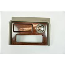 03-06 Yukon Escalade Caddy Dash Trim Bezel with Clock, Storage, for CD Player