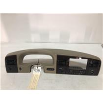 2005-2007 Ford f350 Lariat woodgrain dash bezel with climate control as72391