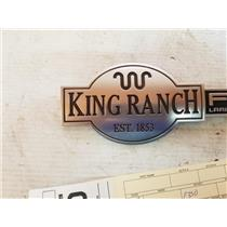 2003-2007 F350 , F250 King Ranch fender emblems tag as72345