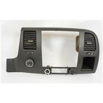 2007-2013 Chevrolet Silverado Radio Climate Dash Bezel with Vents, 12V and 4WD