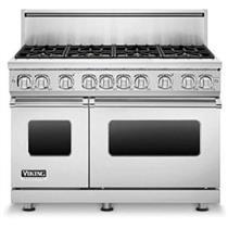 Viking Professional 7 Series VGR7488BSSLP 48 Inch Pro-Style Gas Range Images