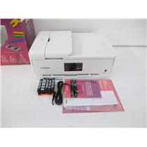 Canon 2988C022 Pixma TS9521C Wireless All-In-One Craft Printer(2-PAGES)