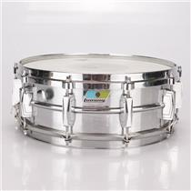 "1976 Ludwig 400 Supraphonic 5x14"" Snare Drum Blue & Olive Badge LM400 #36455"