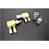 (Lot of 2) Snap-Tite SVHC-6 Quick Release Coupler Body- Nipple -Valve Warranty