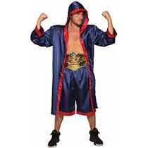 Forum Novelties Mens Blue Boxer Fighter Costume for Adults