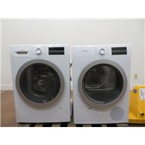 "Bosch 500 Series 24"" Front Load Washer and Dryer WAT28401UC / WTG86401UC Imgs"
