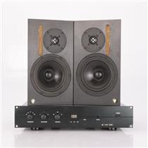 NHT Pro A-20 Nearfield Studio Monitor Speakers & Power Amplifier #36757