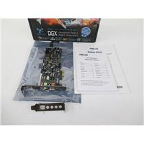 ASUS XONAR DGX 5.1 Ch 24-bit 96KHz PCI Express x1 Gaming Audio Card - INC